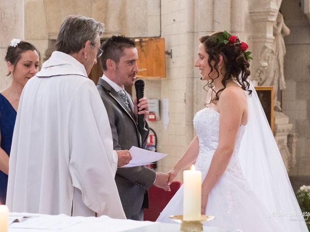Le mariage de Jérôme  et Adeline  à Aigrefeuille-sur-Maine, Loire Atlantique 25
