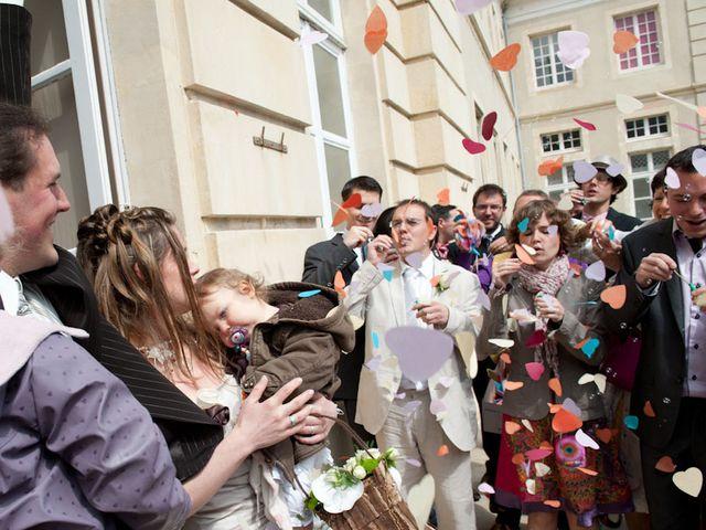 Le mariage de Laurent et Agathe à Isigny-sur-Mer, Calvados 15