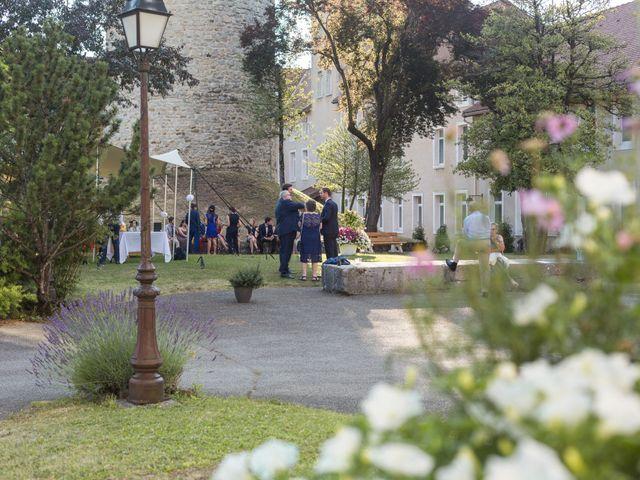 Le mariage de Geoffrey et Clémence à Faverges, Haute-Savoie 6
