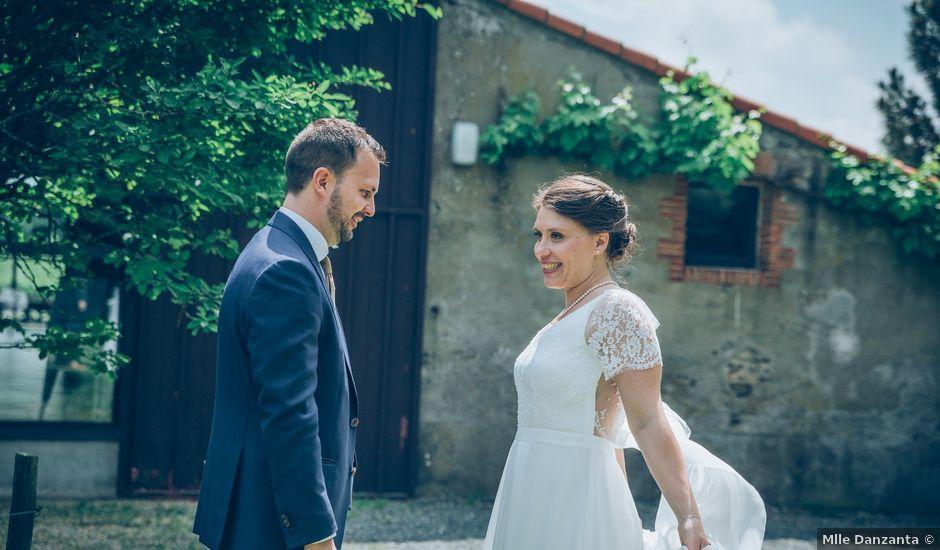 Le mariage de Alban et Elodie à Vallet, Loire Atlantique