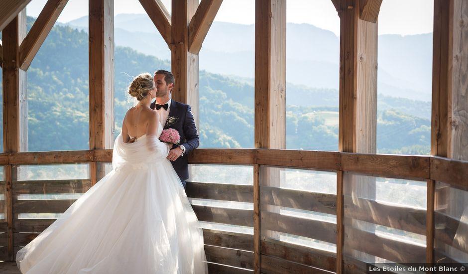 Le mariage de Geoffrey et Clémence à Faverges, Haute-Savoie
