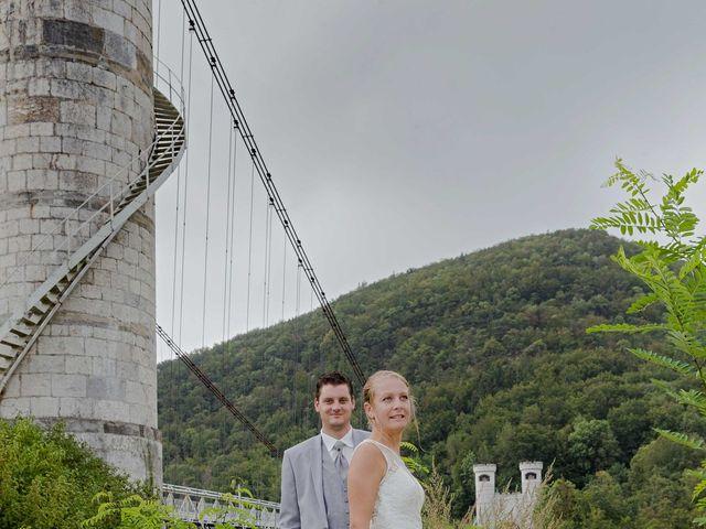 Le mariage de Mickael et Alizé à Saint-Pierre-en-Faucigny, Haute-Savoie 15