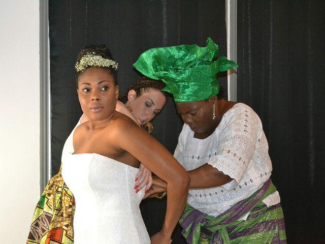 Le mariage de Mathieu  et Assiba  à La Chapelle-Largeau, Deux-Sèvres 4