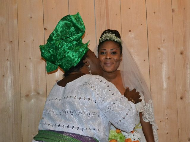 Le mariage de Mathieu  et Assiba  à La Chapelle-Largeau, Deux-Sèvres 6