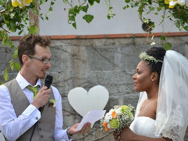 Le mariage de Mathieu  et Assiba  à La Chapelle-Largeau, Deux-Sèvres 11