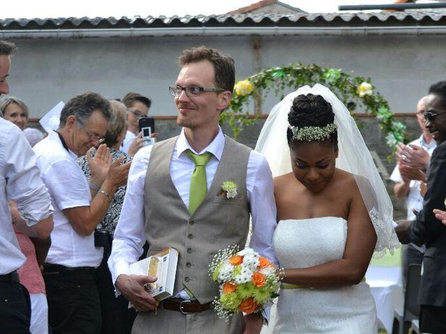 Le mariage de Mathieu  et Assiba  à La Chapelle-Largeau, Deux-Sèvres 13