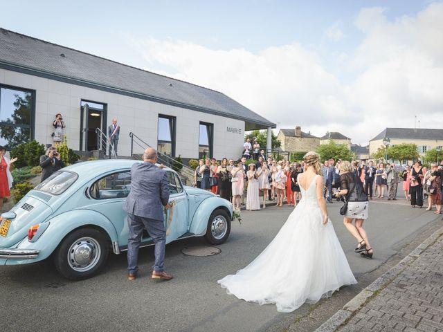 Le mariage de Valentin et Daisy à Entrammes, Mayenne 20