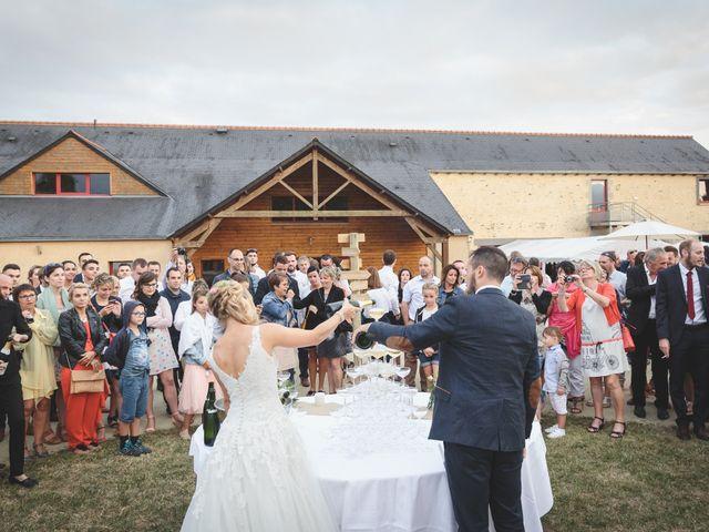 Le mariage de Valentin et Daisy à Entrammes, Mayenne 51