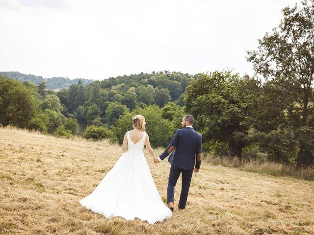 Le mariage de Valentin et Daisy à Entrammes, Mayenne 54