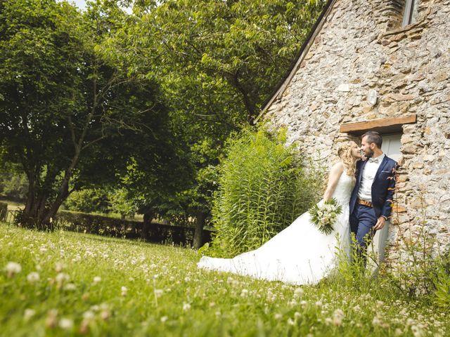 Le mariage de Valentin et Daisy à Entrammes, Mayenne 61