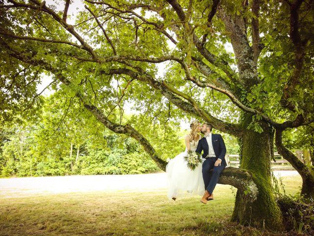 Le mariage de Valentin et Daisy à Entrammes, Mayenne 2