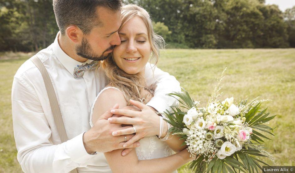 Le mariage de Valentin et Daisy à Entrammes, Mayenne