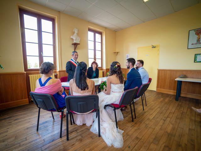 Le mariage de Clément et Virginie à Saint-Menoux, Allier 9