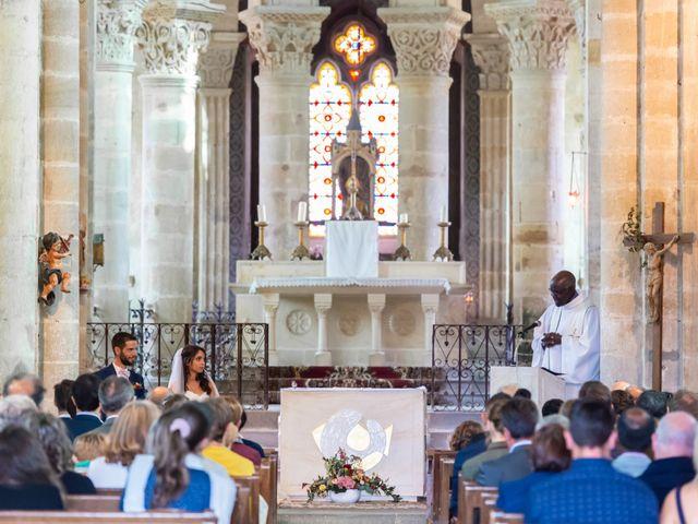 Le mariage de Clément et Virginie à Saint-Menoux, Allier 10