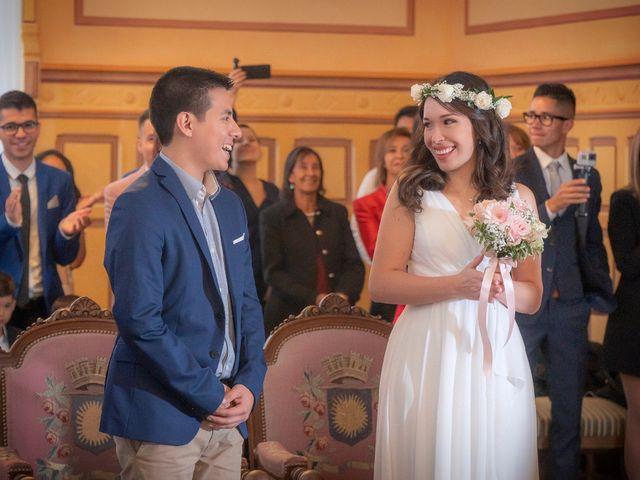 Le mariage de Bruno et Vanessa à Paris, Paris 6