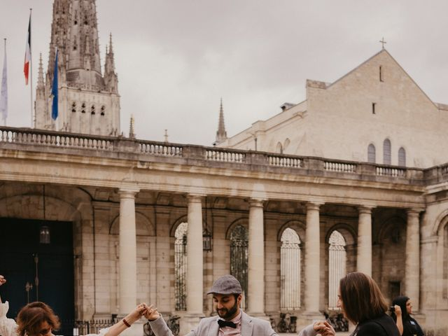 Le mariage de Kassem et Fabby à Bordeaux, Gironde 56