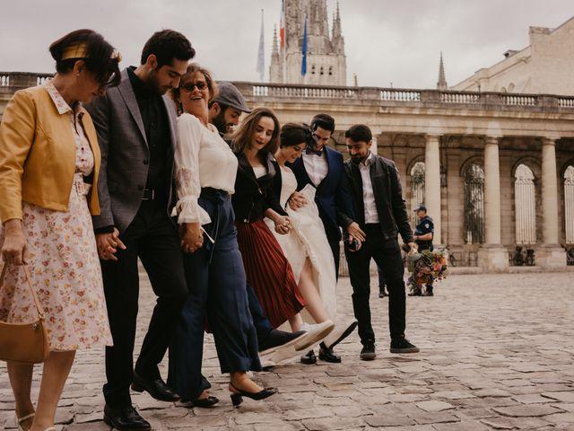 Le mariage de Kassem et Fabby à Bordeaux, Gironde 57