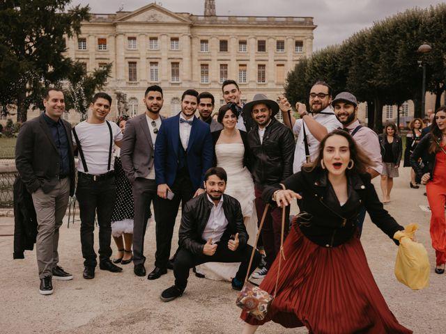 Le mariage de Kassem et Fabby à Bordeaux, Gironde 64