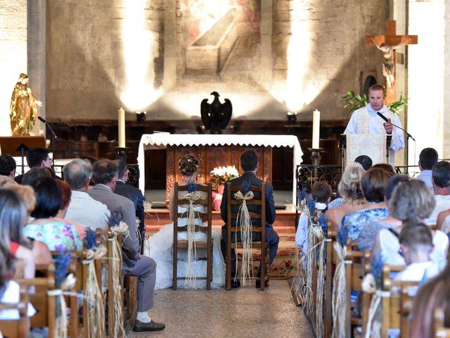 Le mariage de Cyrille et Caroline à Sainte-Cécile-les-Vignes, Vaucluse 12