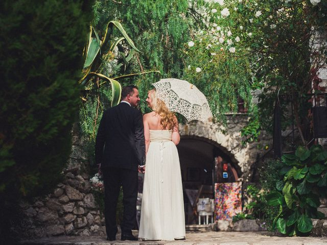 Le mariage de Christopher et Jessica à Éze, Alpes-Maritimes 33