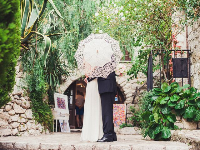 Le mariage de Christopher et Jessica à Éze, Alpes-Maritimes 34