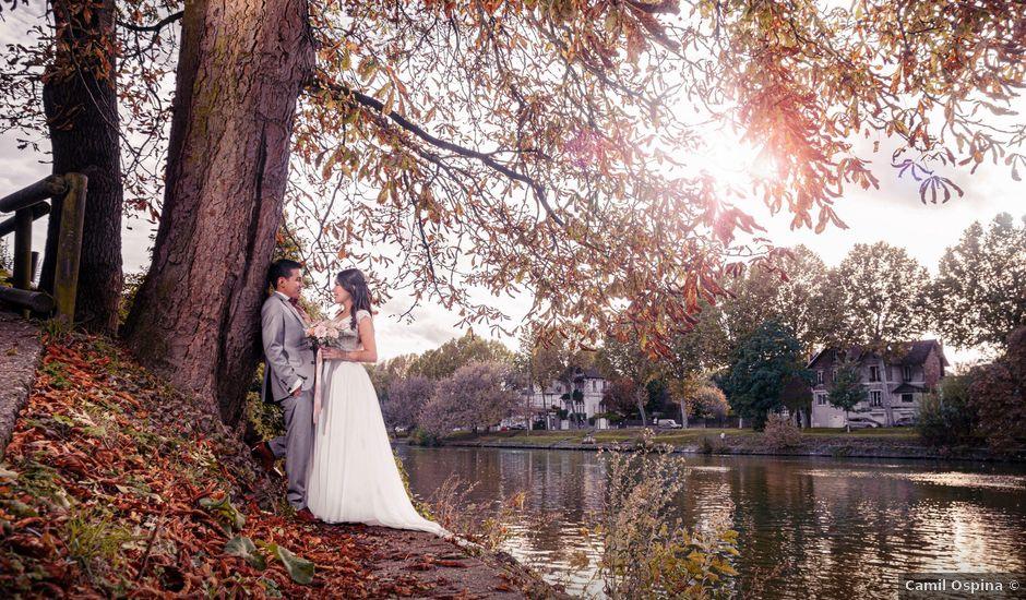 Le mariage de Bruno et Vanessa à Paris, Paris