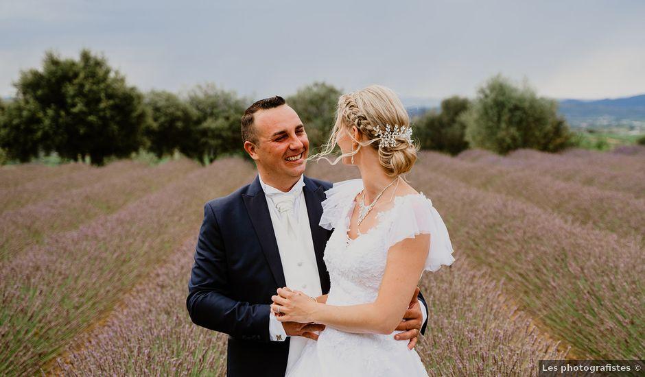 Le mariage de Martial et Elodie à Saint-André-de-Sangonis, Hérault