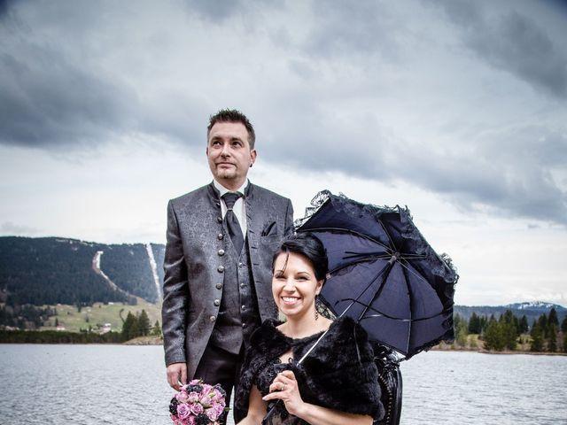 Le mariage de Fabrice et Laëtitia à Les Rousses, Jura 1
