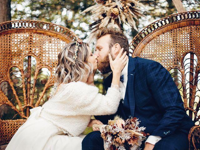 Le mariage de François et Elena à Geneuille, Doubs 34