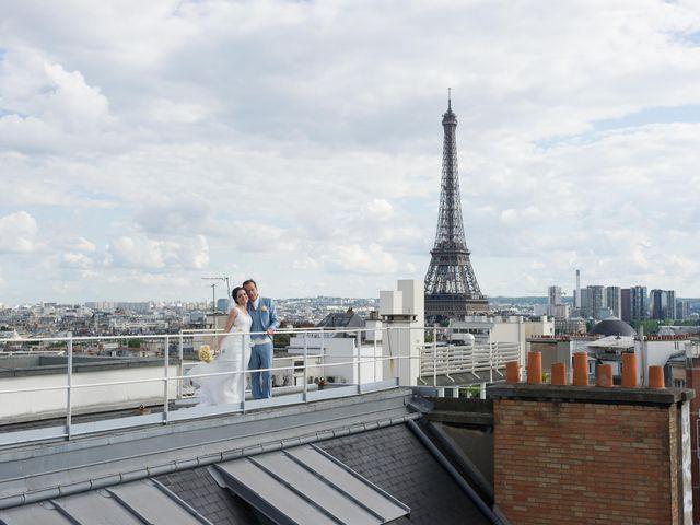 Le mariage de Jurg et Claudia à Paris, Paris 99