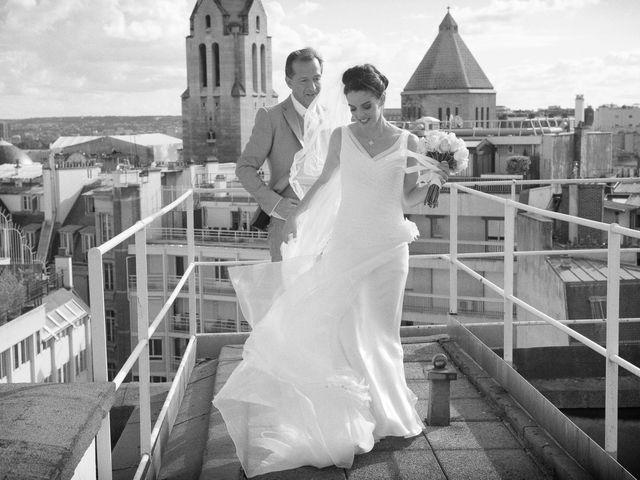 Le mariage de Jurg et Claudia à Paris, Paris 101