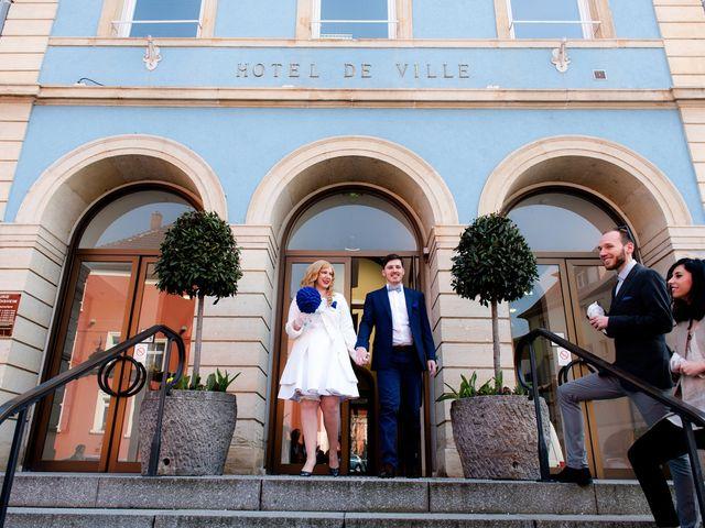 Le mariage de Fabien et Nathalie à Zimmersheim, Haut Rhin 56
