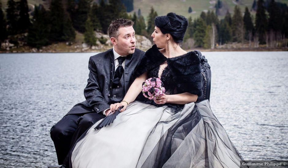 Le mariage de Fabrice et Laëtitia à Les Rousses, Jura