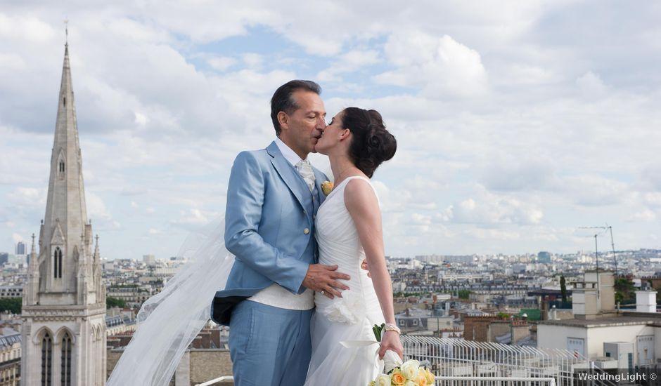 Le mariage de Jurg et Claudia à Paris, Paris