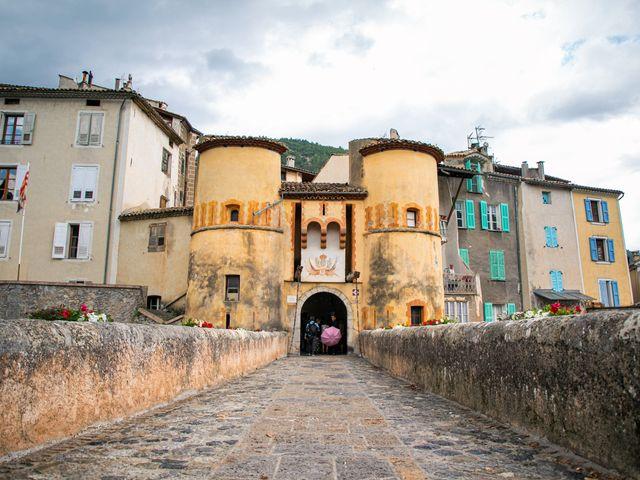 Le mariage de Julien et Déborah à Entrevaux, Alpes-de-Haute-Provence 27