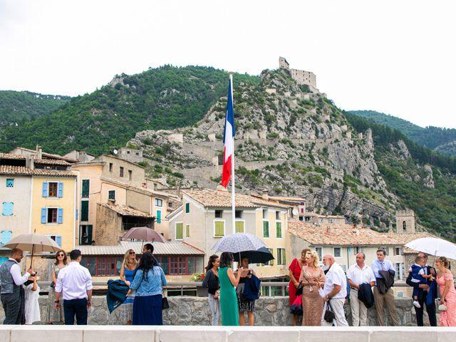 Le mariage de Julien et Déborah à Entrevaux, Alpes-de-Haute-Provence 28