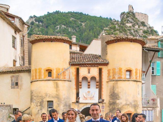 Le mariage de Julien et Déborah à Entrevaux, Alpes-de-Haute-Provence 80