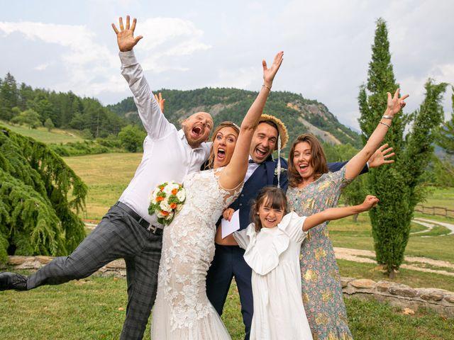 Le mariage de Julien et Déborah à Entrevaux, Alpes-de-Haute-Provence 104