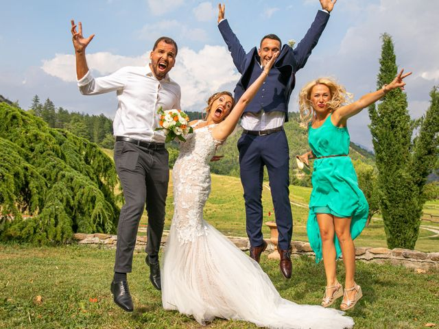 Le mariage de Julien et Déborah à Entrevaux, Alpes-de-Haute-Provence 106