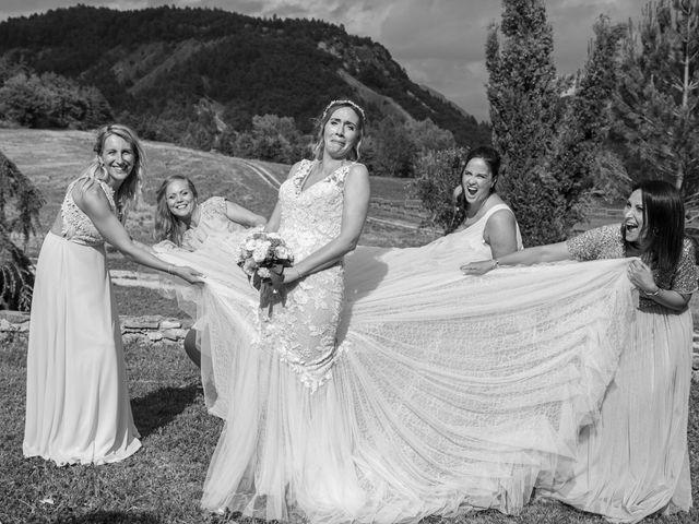 Le mariage de Julien et Déborah à Entrevaux, Alpes-de-Haute-Provence 109