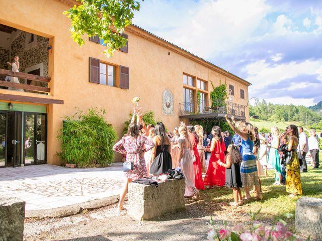 Le mariage de Julien et Déborah à Entrevaux, Alpes-de-Haute-Provence 117