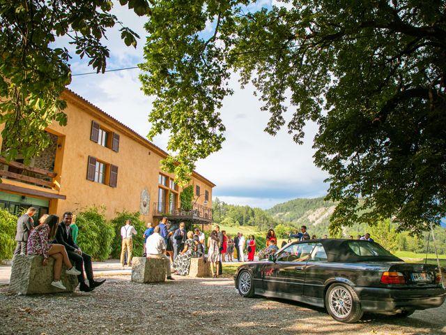 Le mariage de Julien et Déborah à Entrevaux, Alpes-de-Haute-Provence 130
