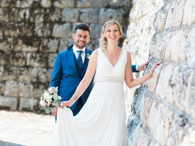 Le mariage de Romain et Coralie à Chatte, Isère 9