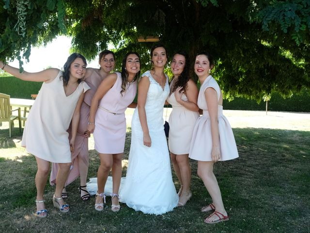 Le mariage de Julien et Cynthia à Soeurdres, Maine et Loire 11