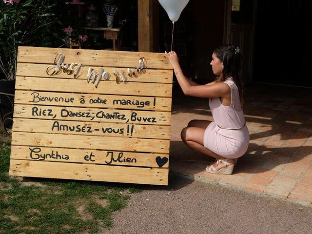 Le mariage de Julien et Cynthia à Soeurdres, Maine et Loire 27