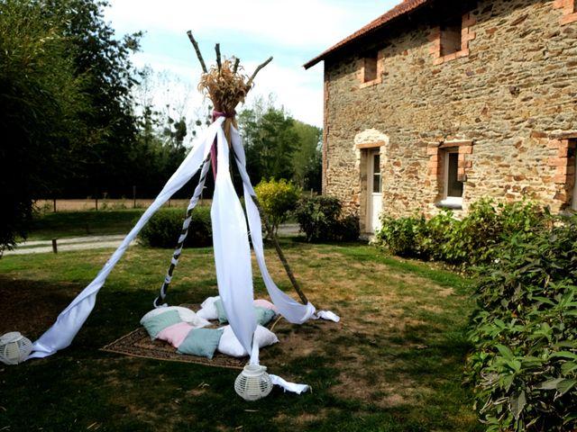Le mariage de Julien et Cynthia à Soeurdres, Maine et Loire 30