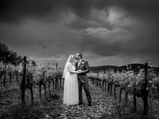 Le mariage de Sébastien et Aurélie à Ollières, Var 16