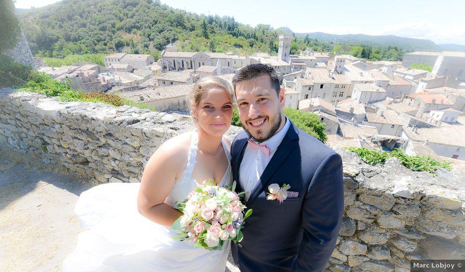 Le mariage de Rudy et Manon à Viviers, Ardèche