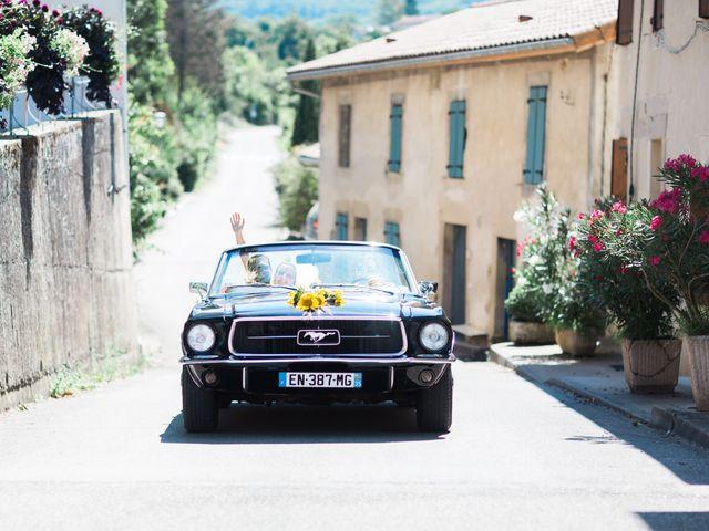 Le mariage de Dimitri et Agnès à Jaillans, Drôme 20