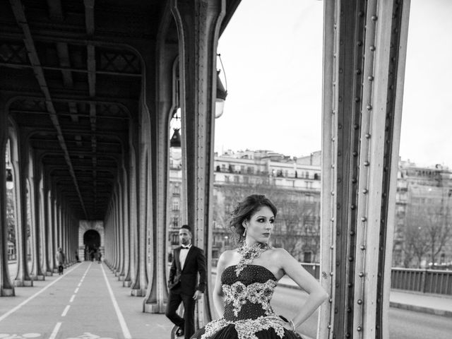 Le mariage de Tayeb et Sarah à Évry, Essonne 20